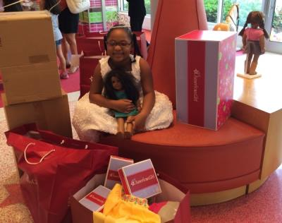 Shopping Spree at American Girl